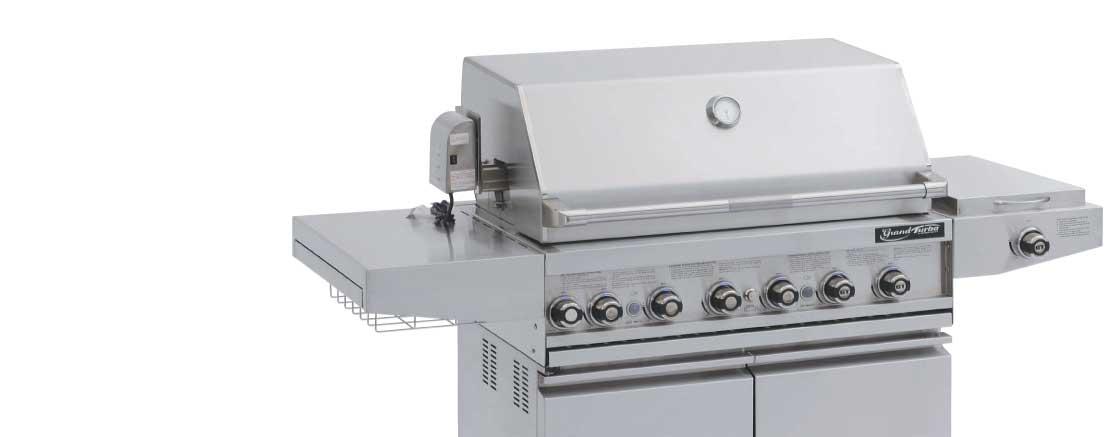 Cart model gas grills
