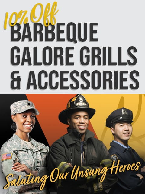 Special Discounts for Veterans, Active Military, Law Enforcement, Fire & First Responders