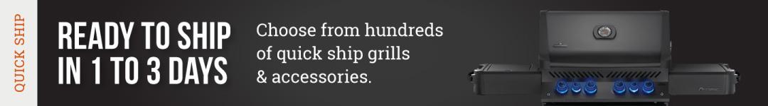 Quick Ship Grills & Accessories