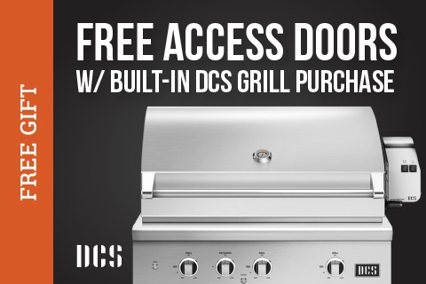 Free Access Doors with DCS Grill Purchase