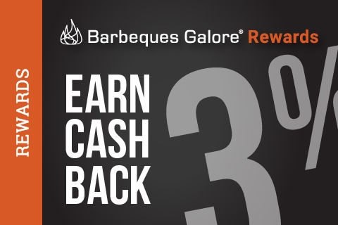 Save 3% with Barbeques Galore Rewards