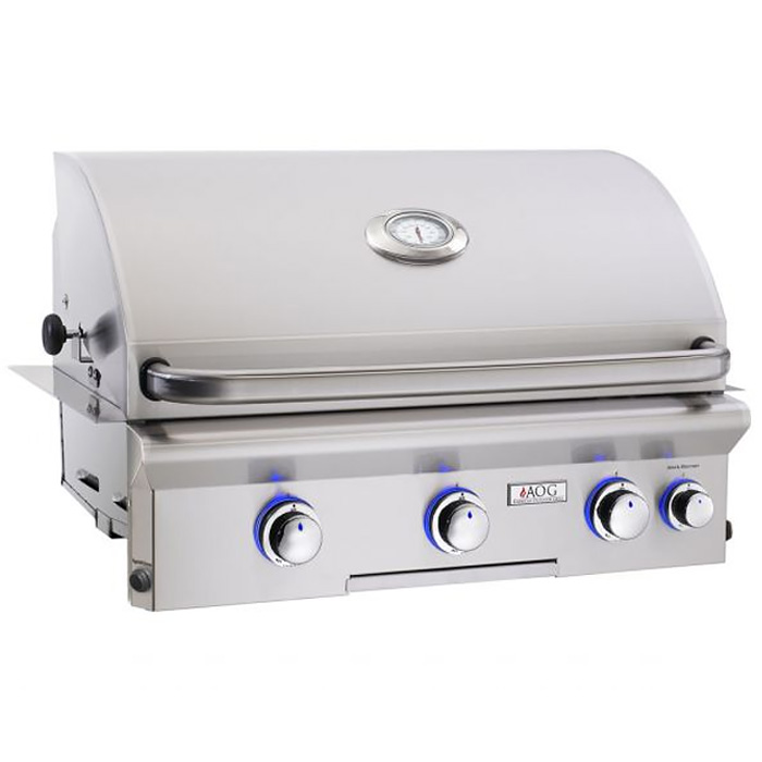 Best Built-In Gas Grill for High-Powered Backburner