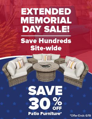Save 30% Off Patio Furniture