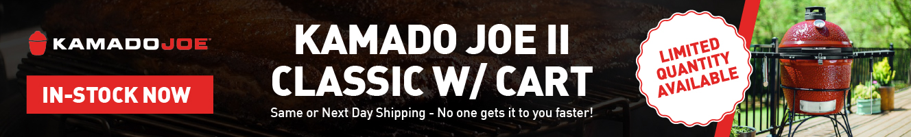 Kamado Joe Classic II - In Stock