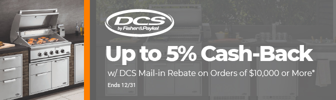 Up to 5% Cash-Back w/ DCS Mail-in Rebate on Orders of $10,000 or More