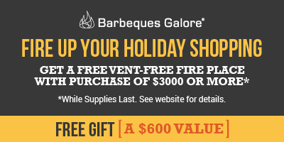 Free Vent-Free Fireplace Bundle with Purchase of $3000 or more