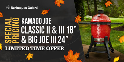 Kamado Joe Classic II & III and Big Joe III On Sale