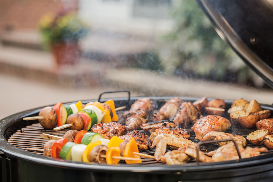Cooking on the new Weber Summit Charcoal grill