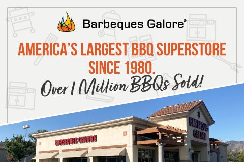 America's Largest BBQ Superstore since 1980. Over 1 Million Sold!