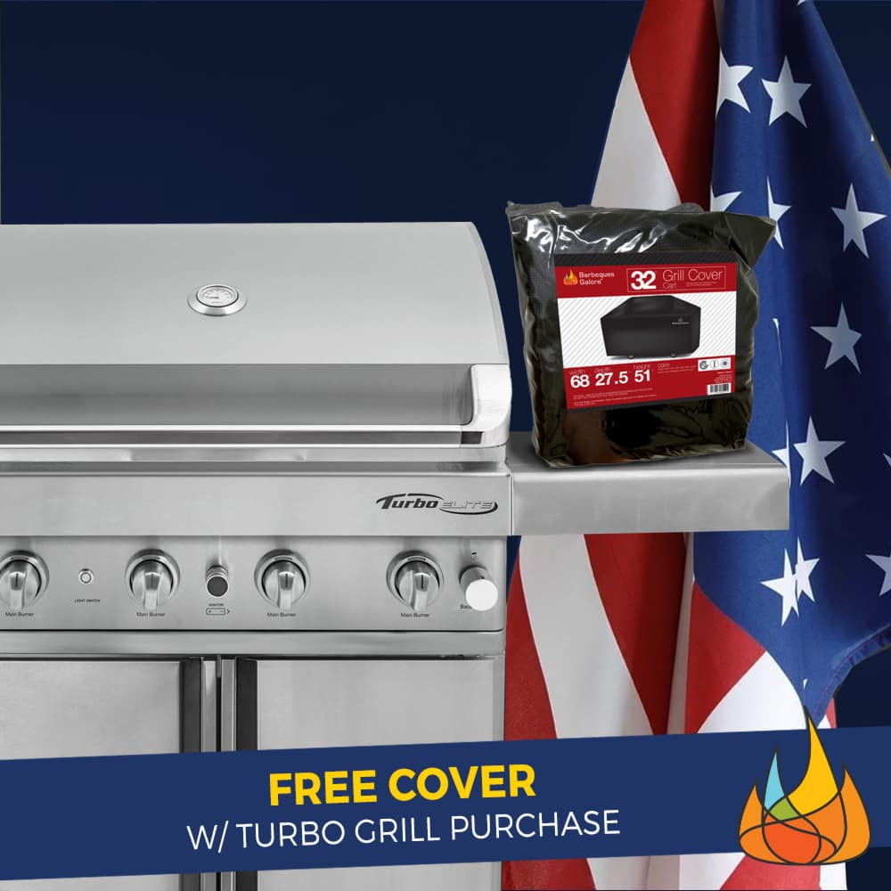 Free Cover w/ Purchase of Turbo Grill