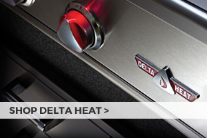 Shop Delta Heat grills and island accessories at Barbeques Galore