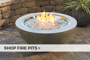 Shop gas and wood fire pits at Barbeques Galore