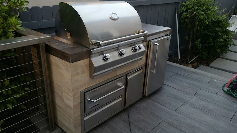 What are Unfinished BBQ Island Cabinets?