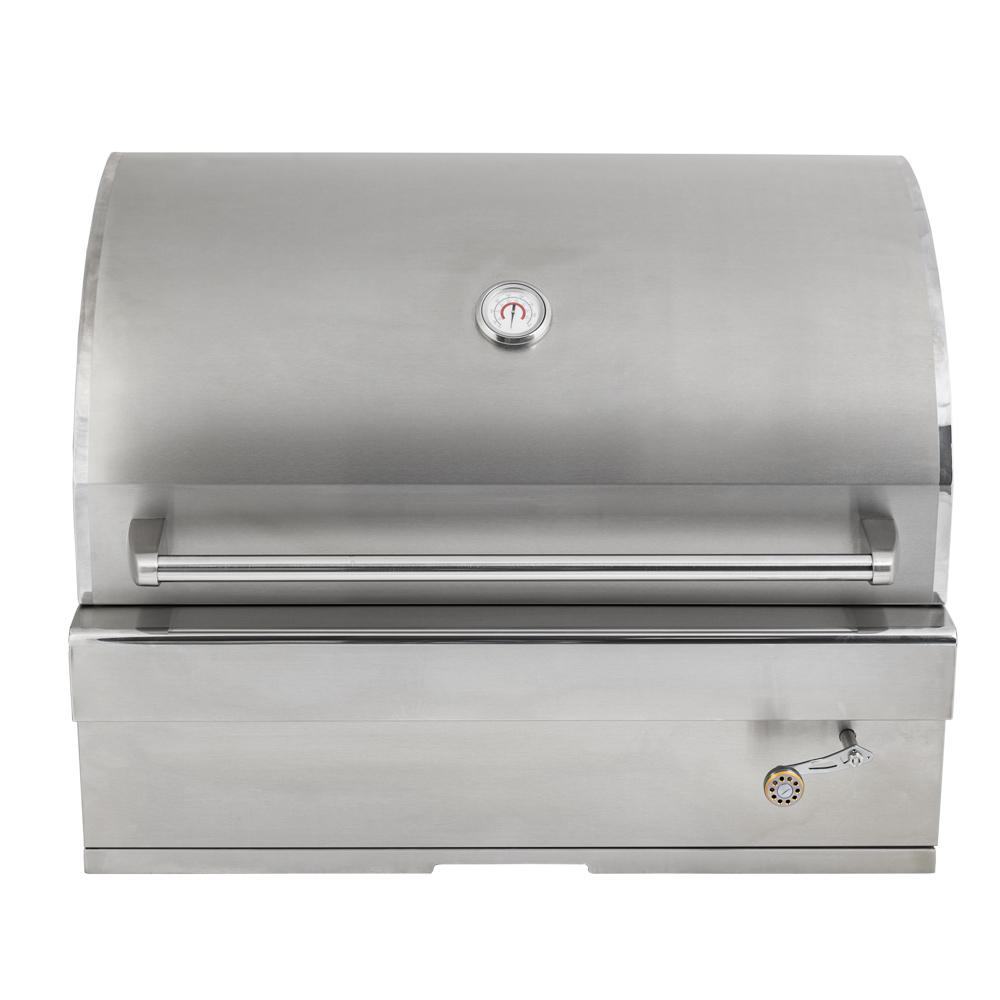"Outdoor BBQ Island Built-in Gas Grill Head//Top Cover Fits up to 30/""  Black"