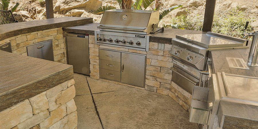 Gas charcoal barbecue grills islands heaters patio for Gasgrill fur outdoor kuche