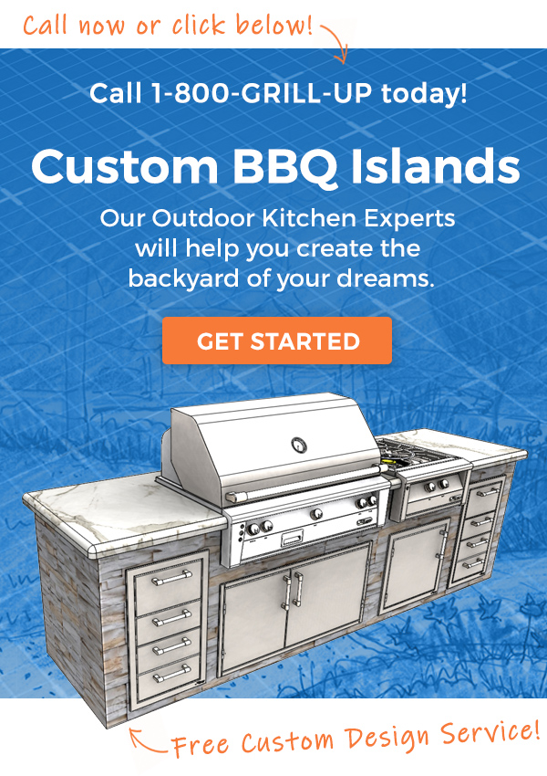Custom BBQ Islands - Free Custom Design Service
