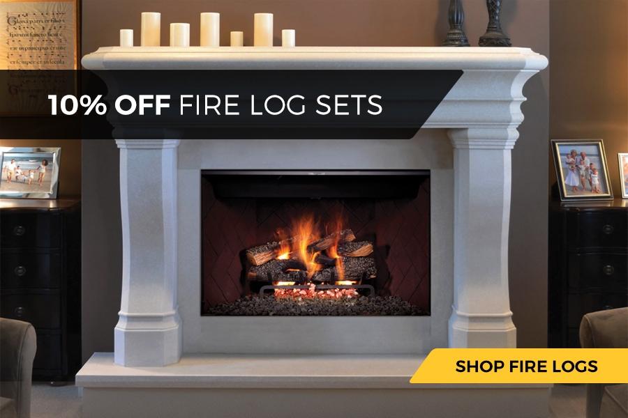 10% Off Fire Log Sets
