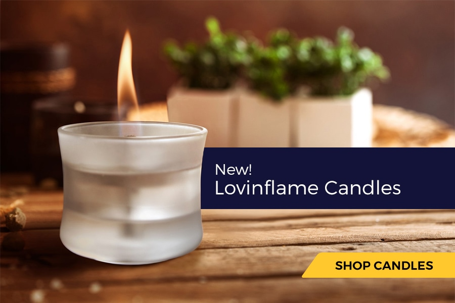 New! Lovinflame Candles