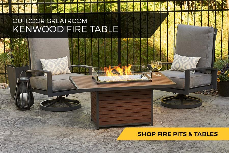 Outdoor Greatroom Kenwood Fire Table