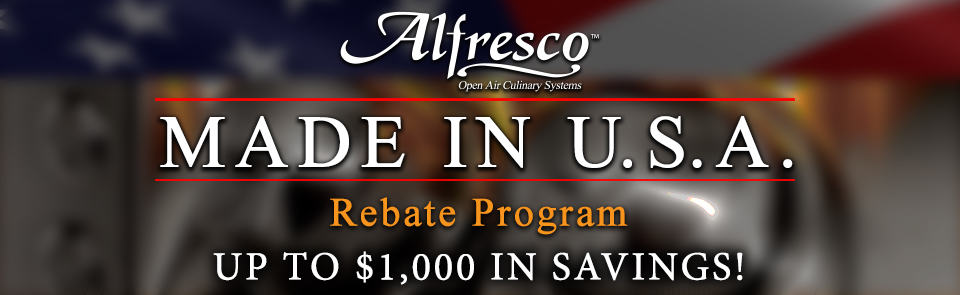 Alfresco Rebate Program
