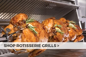 Shop rotisserie grills at Barbeques Galore