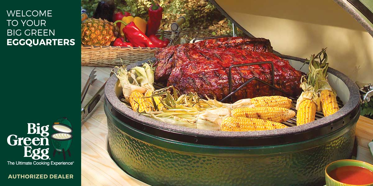 Big Green Egg - Shop by Brand - BBQ Grills & Smokers Barbeques Galore