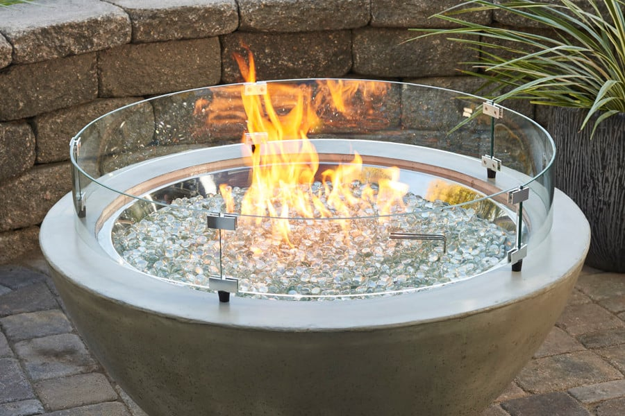 Add a touch of style and class with our amazing Fireglass selection!