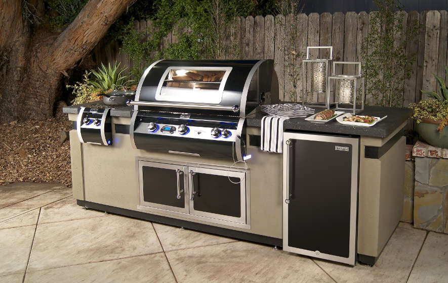 Redefine luxury in grilling