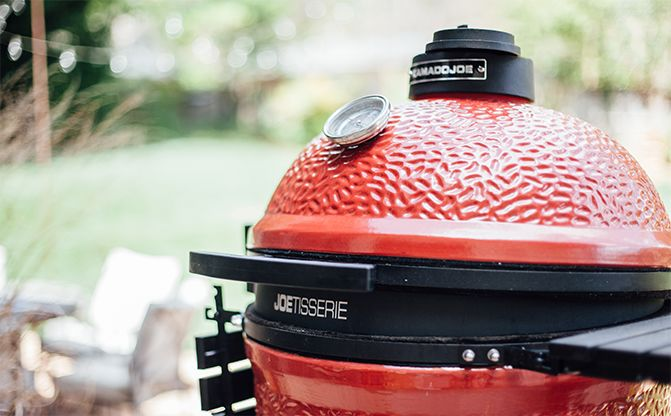 Authorized dealer of Kamado Joe