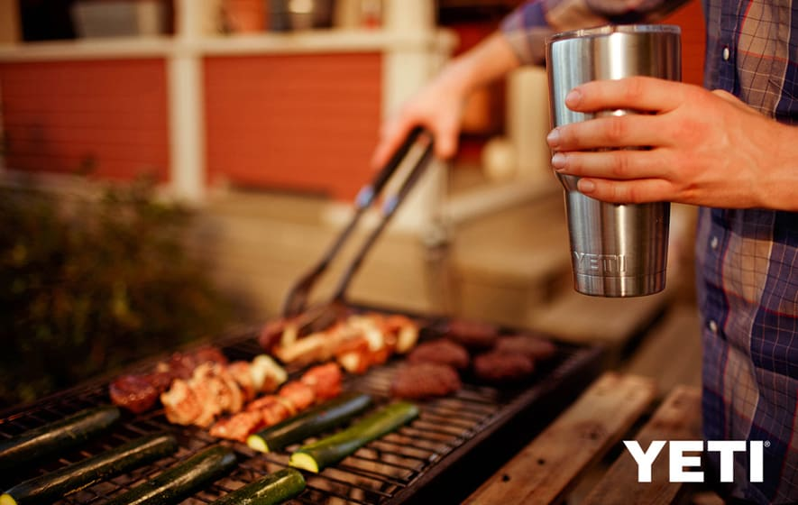 Go on an adventure with a YETI Rambler!
