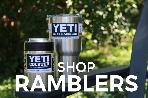 Shop YETI Rambler and Tumbler at Barbeques Galore