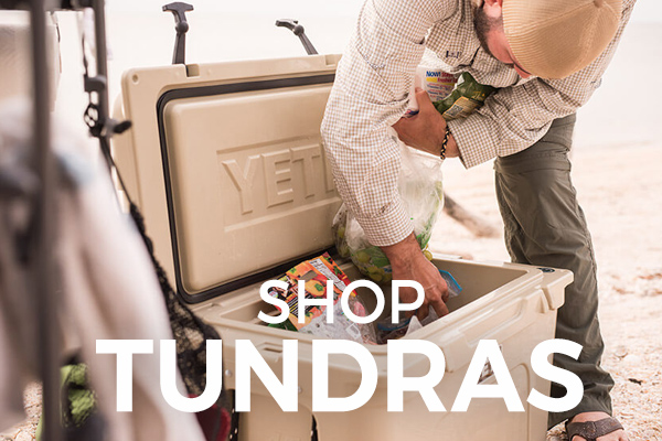 Shop YETI Tundra coolers at Barbeques Galore