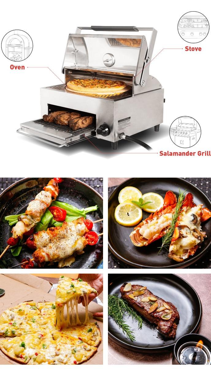 Capt'N Cook OvenPlus Salamander Grill Features