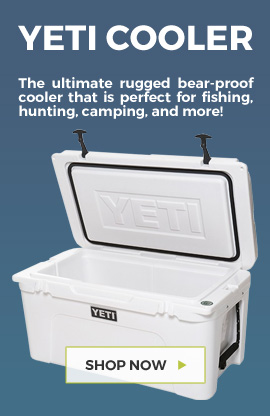 Yeti Coolers available at Barbeques Galore